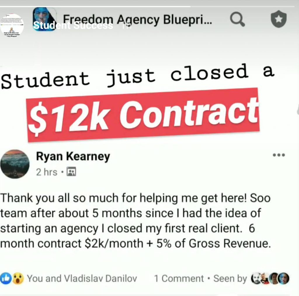 freedom agency blueprint review