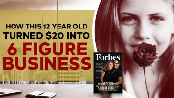 How this 12 Year Old Turned $20 into 6 Figure Business!